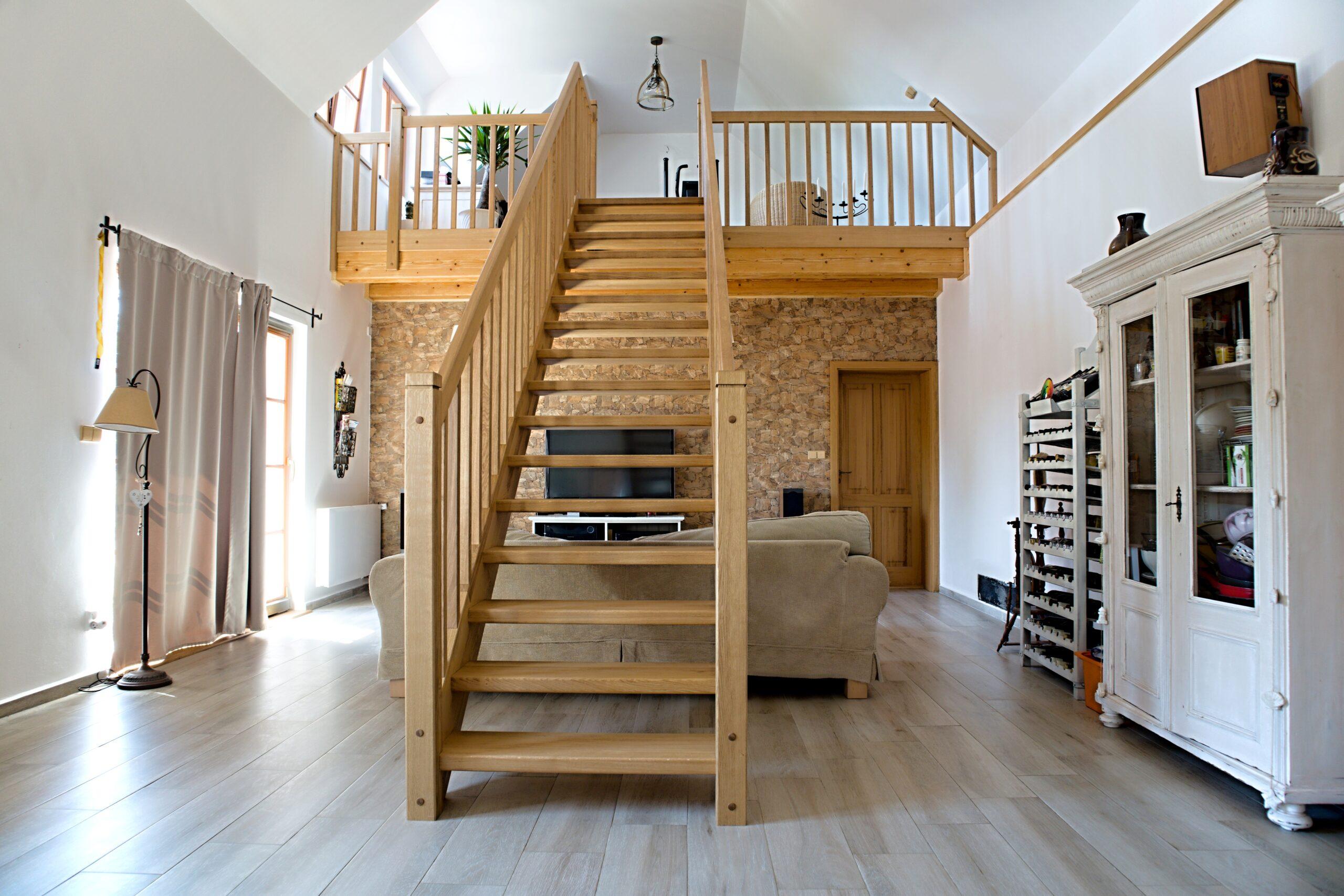 Zadlabané schodiště