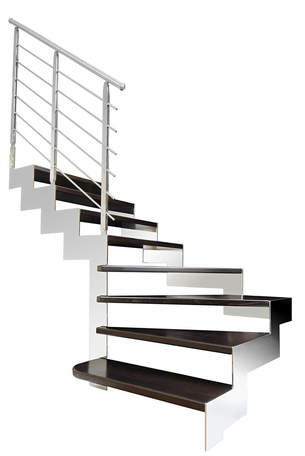 Samonosné kovové schodiště